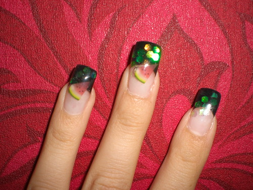 nail nails designs gallery with Fruit Decorated nail art designs gallery