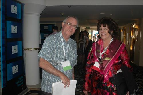 Tom Bunzel with Joyce Schwarz