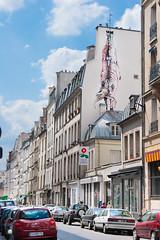 Bonom @ Paris (un oeil qui trane) Tags: street urban streetart paris france art paint peinture 75 graffitis minotaure bonom