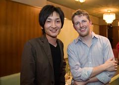 With Matt at WordPress Kansai