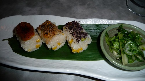 Summer rice balls at Zenkichi