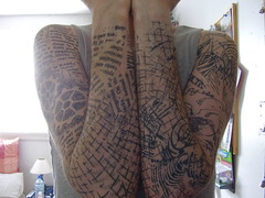 arms (the_dan) Tags: abstract tattoo ink text nine tattoos swirls sleeves nigelpalmer cpgs ninetattoo