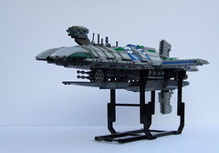 frigate1 (Rogue Bantha) Tags: starwars lego mini frigate clonewars munificent bankingclan