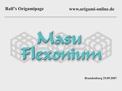 masu_flexi (origami-online) Tags: paper origami action modular kaleidozyklus