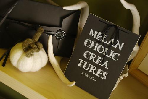 Melancholic Creatures Book