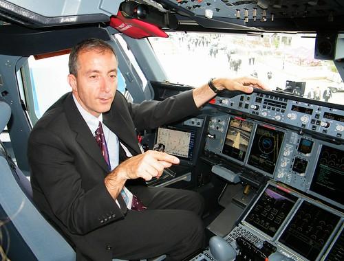 PARIS AIR SHOW 2009 / AIRBUS A380 / SALON DU BOURGET 2009