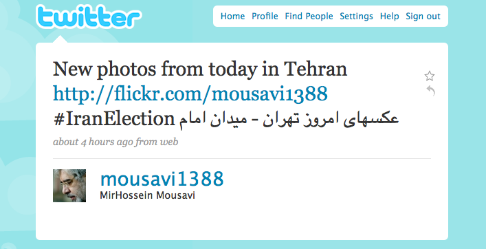 new photos from today in Tehran from @mousavi1388