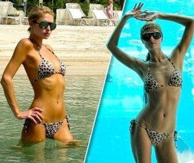 Paris Hilton Dubai bikini photo