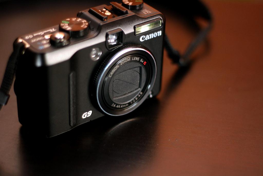 My Canon Powershot G9