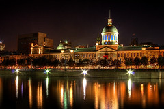 March Bonsecours (philessing) Tags: canada night canon quebec montreal oldmontreal canondslr hdr lightroom 500d marchbonsecours canonef28135mmf3556isusm tonemapping montrealoldport photopedia t1i canoneosrebelt1i