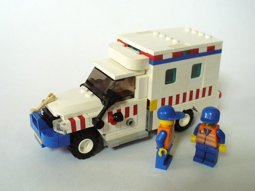 Tim Gould LEGO ambulance