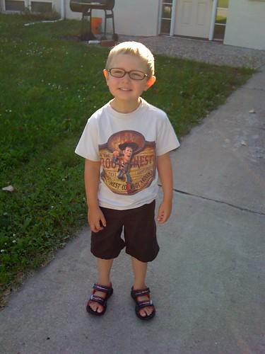 Zach on his 4th Birthday