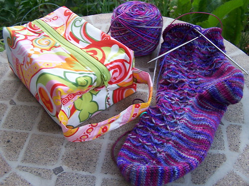 First SOS'09 sock