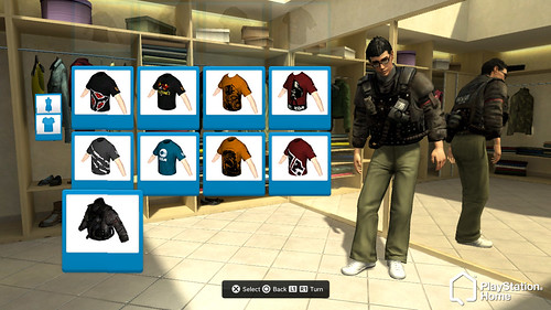 PS Home - Killzone 2 clothing