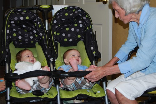 Nanny Vera with Alex and Adam