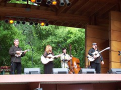 Claire Lynch at RockyGrass 2009