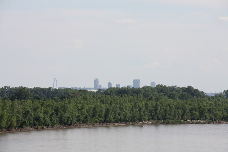 St Louis in the Distance