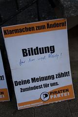 Wahlplakate Kommunalwahl 2009 (gedankenstuecke) Tags: pirates muenster plakate wahlkampf münster munster pirateparty piraten kommunalwahl piratenpartei mnster