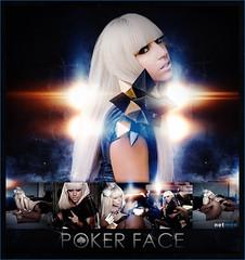 Poker face [The fame] (netmen!) Tags: face lady fame poker gaga blend the netmen