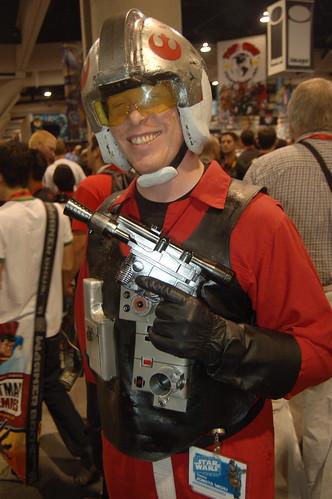 Comic Con 09: B-Wing Pilot