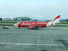 Air Asia 737 PK-AWC in Kuching