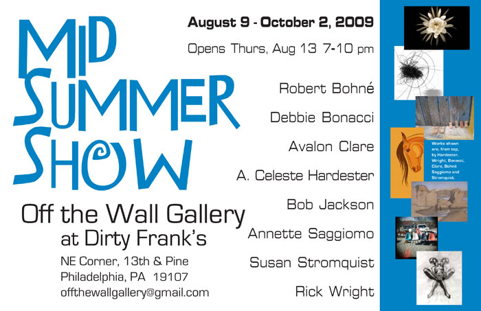 Mid Summer Show at Off The Wall Gallery