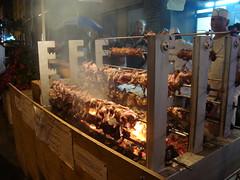 TASTE OF THE DANFORTH 2009. (Laprell Fontaine) Tags: food toronto ontario canada chicken greek town yummy beef gyros bbq danforth pork satay greektown smells tasteofthedanforth tast meatsonsticks internationalathome