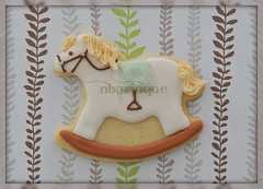 Rocking Horse Cookie (Sweet Pudgy Panda) Tags: horse cookie royal sugar pony icing rocking picnik