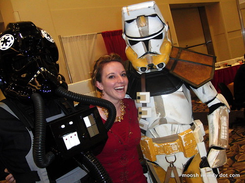 the epitome of gen con, the storm trooper.