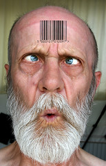 Day293 yr2 Barcoded (tootdood) Tags: get tattoo day canon20d group noone have barcode easier forehead though mentioned 293 yr2 barcoded clocking 365days threesixtyfive themagicdolphinlovesme