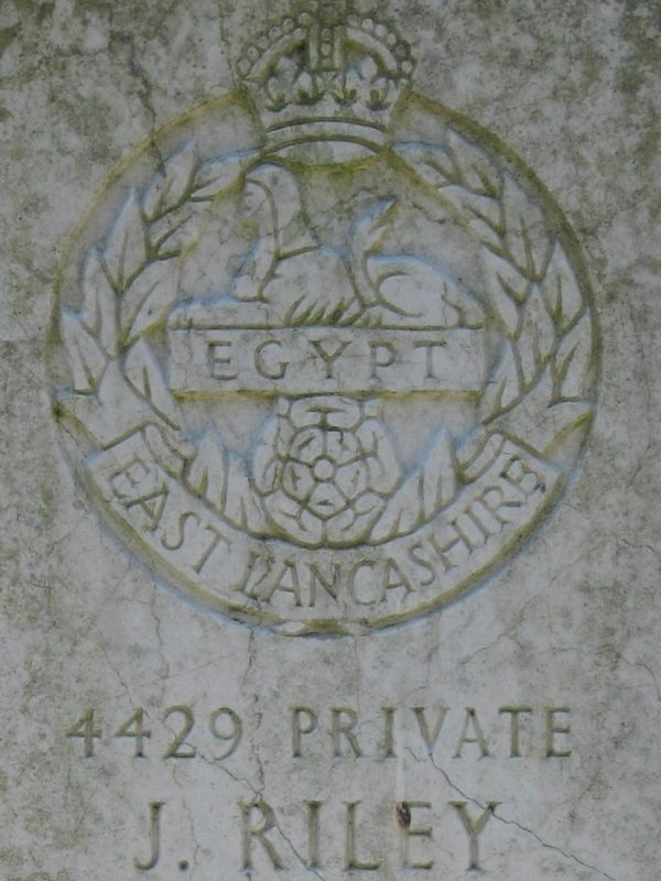 Tomb of Private Riley, Catholic cemetery of Amersfoort