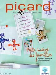 magazine Picard Surgelés de Septembre
