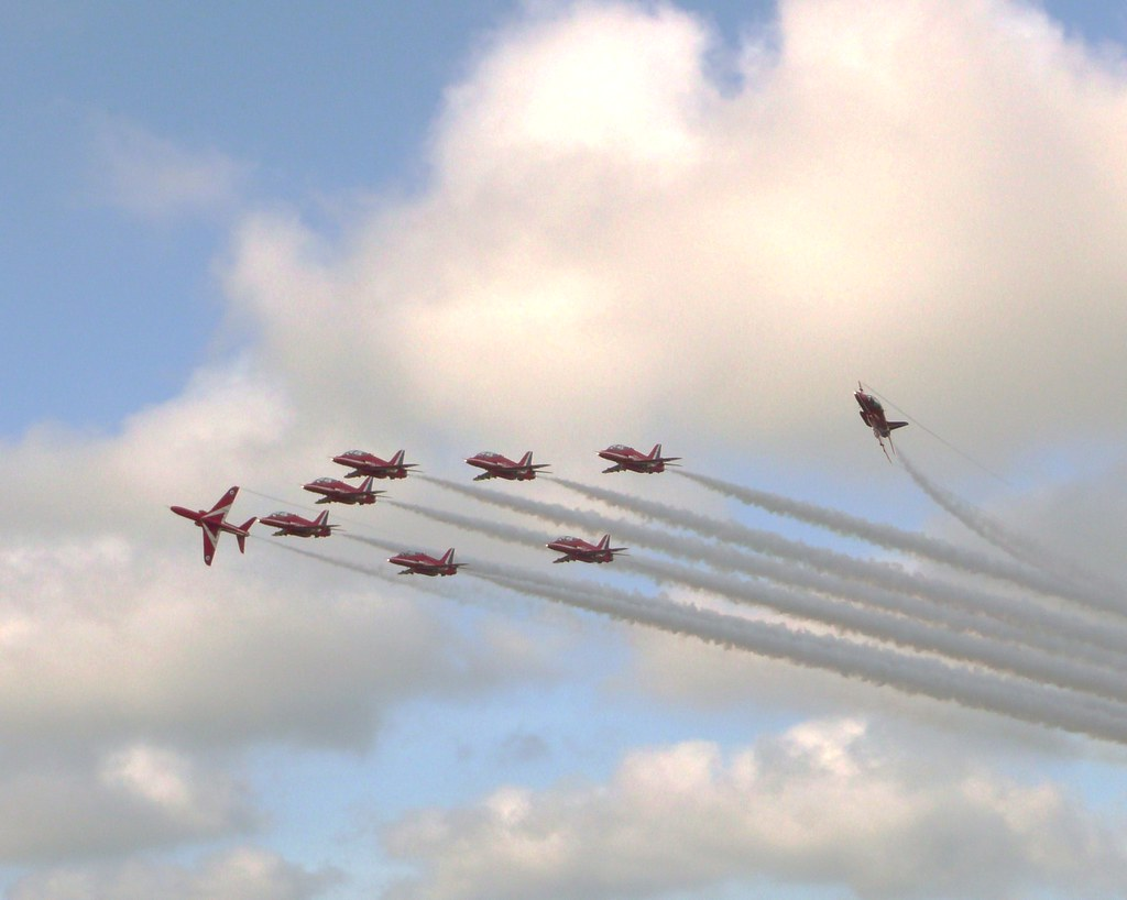 Red Arrows Bournemouth Airport 09