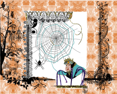 henrietta-spider-weaving-her-cape