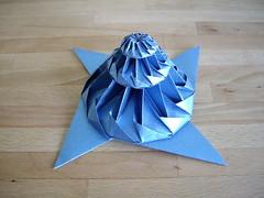 towerish logarithmic wreath (Dasssa) Tags: origami chrispalmer flowertower dasssa