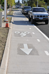 Cully Blvd cycle track-11
