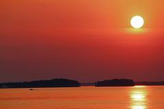 Lake Murray Sunset (WarEagle8608) Tags: sunset sun lake reflection sc water island boat fishing dusk lexington south ngc southcarolina columbia carolina murray columbiasc lakemurray lexingtonsc flickraward eoskissx4 canoneos550d flickraward5 eos550d canoneosrebelt2i rebelt2i canoneoskissx4 eosrebelt2i