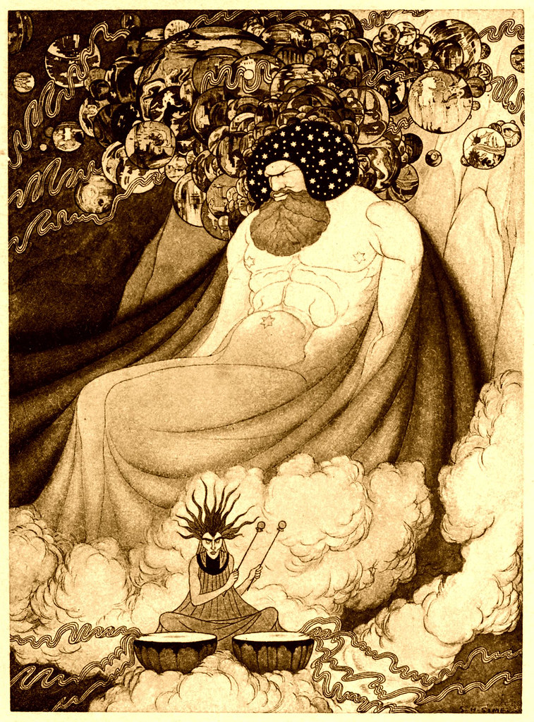 Sidney Sime - The Dreams Of Manya - Yood - Sushai (1911)