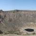 El Sod crater lake panorama