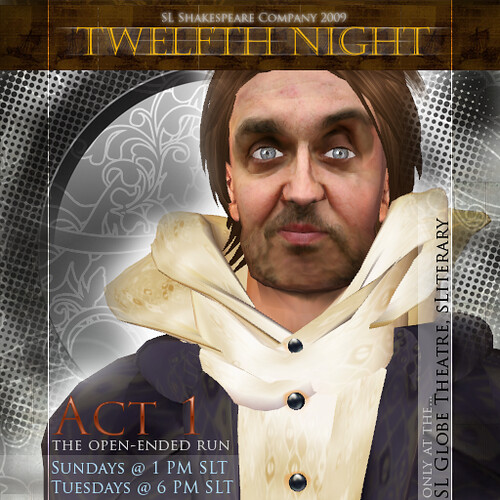 OEP1 Twelfth Night - Actor Focus - Sir Toby Belch - In the Daze of Castiliano Vulgo