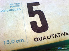 Filter Paper No 5