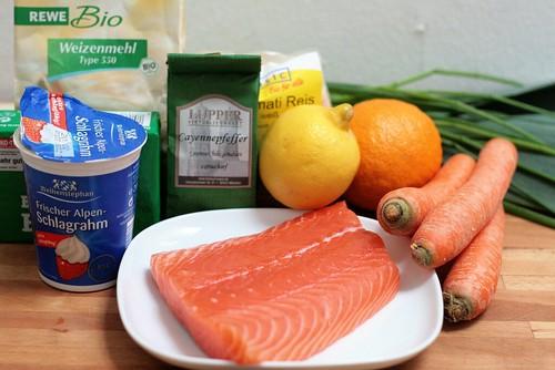 Ingrédients blanquette de saumon