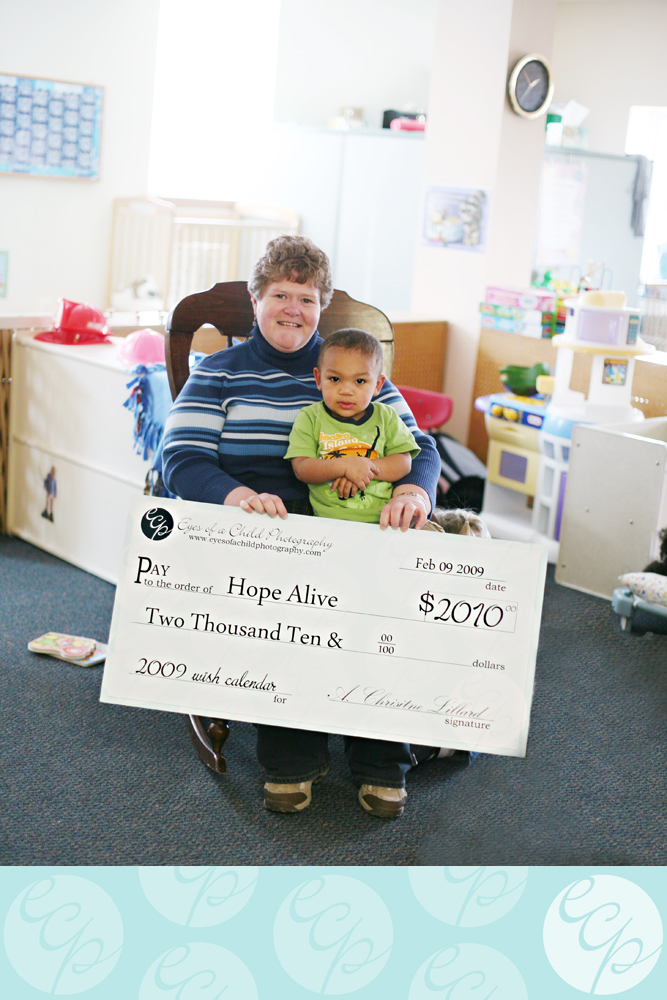 hope alive donation