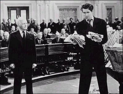 Jimmy Stewart & Claude Rains