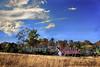 Blue Sky (Uncle Phooey) Tags: blue autumn fall yellow barn rural bluesky farmland explore missouri ozarks soe hdr southwestmissouri mywinners theperfectphotographer unclephooey
