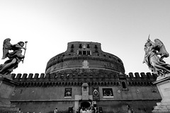 Classica Roma: Castel S.Angelo (Alessandro Pinna) Tags: rome roma castle wide castelsangelo castello grandangolo soe abigfave anawesomeshot ultimateshot theunforgettablepictures