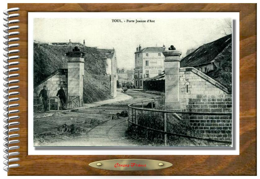 TOUL.- Porte Jeanne d'Arc