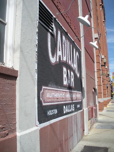 The Familar Cadillac Bar Sign