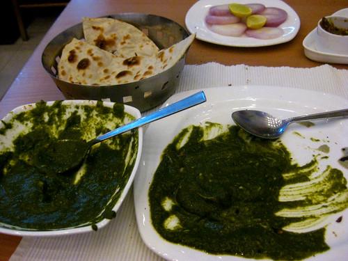 Delicious, delicious Indian food.