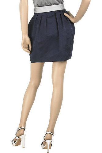 thread social two tone tulip skirt back by carbonated.